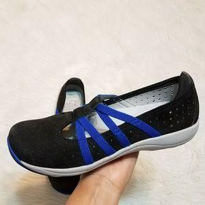 Dansko Hope Women's Slip on Shoes Graphite Suede
